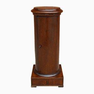 19th Century Italian Empire Walnut Side Cupboard