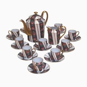 Servizio da caffè in porcellana Limoges, anni '20