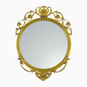 Runder neoklassizistischer Vintage Spiegel aus Frankreich, 1930er