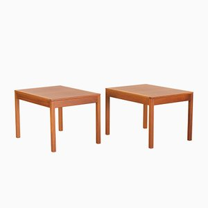 Scandinavian Modern Danish 5361 Teak Nightstands by Børge Mogensen for Fredericia, 1970s, Set of 2