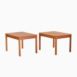Tables de Chevet 5361 Scandinaves en Teck par Børge Mogensen pour Fredericia, 1970s, Set de 2