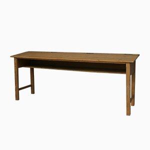 Vintage Schultisch aus Holz, 1920er