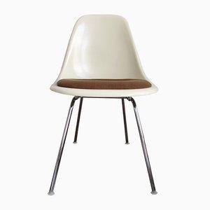 DSX Beistellstühle aus Glasfaser von Charles und Ray Eames für Herman Miller, 4er Set