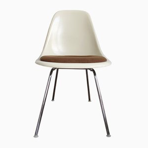 DSX Fiberglass Side Chairs by Charles and Ray Eames for Herman Miller, Set of 4
