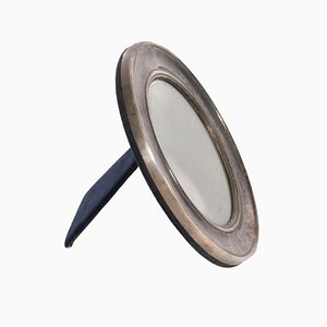 Small Round Mid-Century Mirror from Mappin & Webb, 1960s