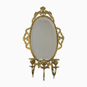 Neoklassizistischer französischer Vintage Spiegel, 1920er