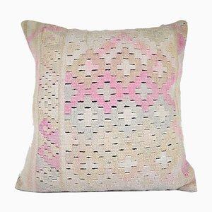 Federa geometrica Kilim fatta a mano di Vintage Pillow Store Contemporary vintage