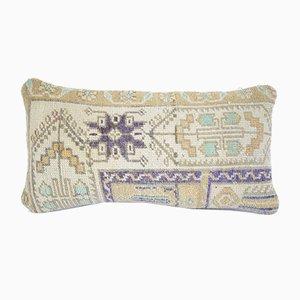 Handgemachter Oushak Teppich-Kissenbezug von Vintage Pillow Store Contemporary
