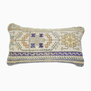 Wool Lumbar Cushion Cover from Vintage Pillow Store Contemporary