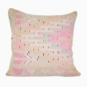 Vintage Pastel Geometrical Turkish Pillow Cover from Vintage Pillow Store Contemporary