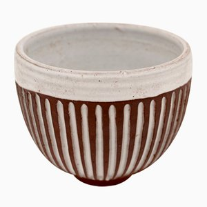 Vintage Ceramic Bowl by Pol Chambost
