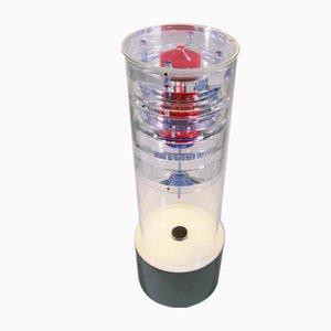 Industrielle Vintage Plexiglaslampe