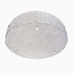 Lampada da soffitto in vetro satinato e metallo di Kaiser Idell / Kaiser Leuchten, Germania, anni '60
