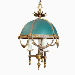 Französischer Vintage Bouillotte Kronleuchter im Louis XV-Stil