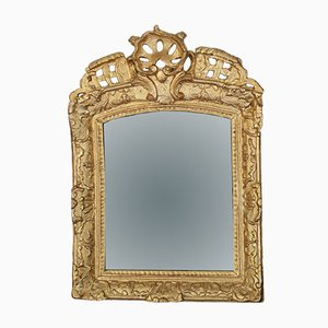 18th-Century Louis XV French Gilt Mirror