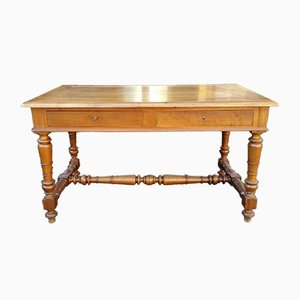 19th-Century French Louis Phillipe Walnut Desk
