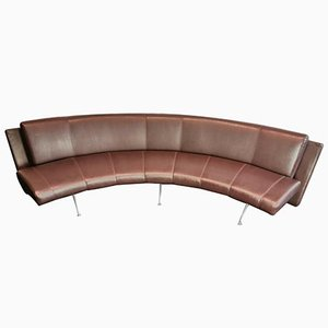 Italian Waiting Closed Corner Bench Sofa by Rodolfo Dordoni for Moroso, 1980s