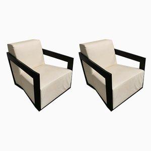 Italienische Sessel von Porada, 2000er, 2er Set