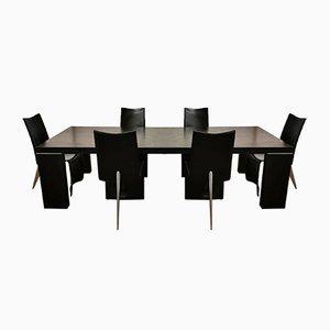 Ed Archer Stühle von Philippe Starck für Aleph, 1980er, 6er Set
