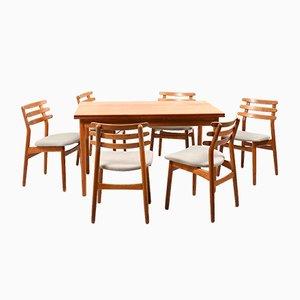 Set da pranzo Mid-Century di Poul M. Volther per FDB, Danimarca