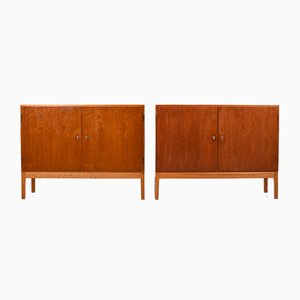 Mid-Century Danish Cabinets by Borge Mogensen for FDB, Set of 2