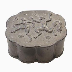 Swedish Tin Box from Hans Bergman Foundry AB, 1929