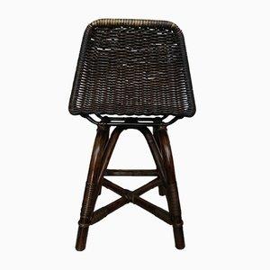 Vintage Stühle aus Korbgeflecht, 2er Set