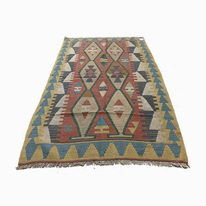 Vintage Turkish Wool Kilim Rug, 1980s