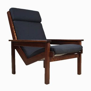 Teak Lotus Lounge Chair by Rob Parry for De Ster Gelderland, 1960s
