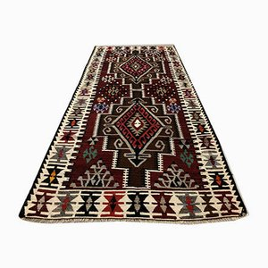 Vintage Turkish Wool Kilim Rug, 1970s