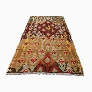 Vintage Turkish Wool Kilim Rug, 1940s