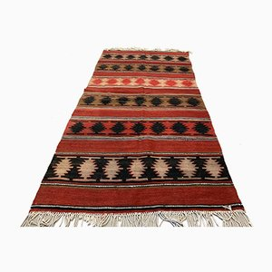 Vintage Turkish Wool Kilim Rug, 1960s