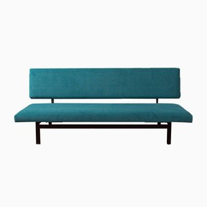 Mid-Century German Steel and Polyester Sofa, 1950s