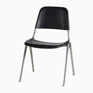 Model 1601 Stacking Knoll chairs, 1964s, Set of 3