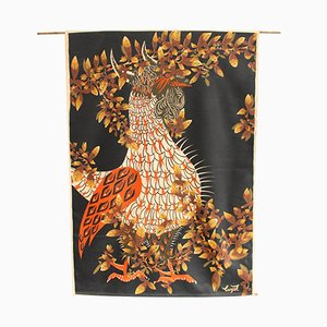 Mid-Century Le Tapageur Tapestry by Jean Lurcat for Corot