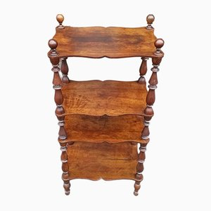 19th-Century Italian Louis Philippe Walnut Shelf