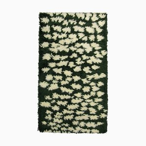 Green Hilla Wool Carpet by Marianne Huotari for Finarte