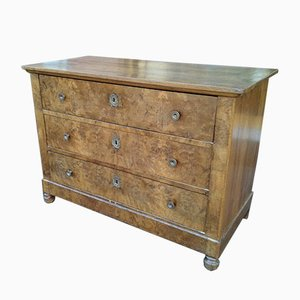 Antique Louis Philippe French Walnut Dresser