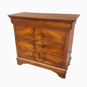 19th-Century Louis Philippe French Walnut Dresser