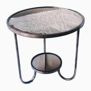 Table Basse Vintage en Cuivre