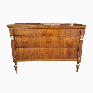 18th-Century Directoire Italian Walnut Dresser