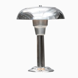 Vintage French Art Deco Champignon Table Lamp