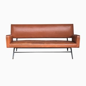 German Leather Daybed by Walter Knoll, 1950s