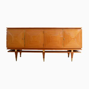 Mid-Century French Wooden Sideboard, 1960s