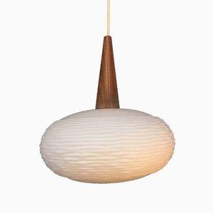 Vintage Suspension Lamp by Louis Kalf