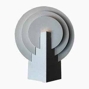 Aplique danés minimalista de acero de Lyskær Belysning, años 80