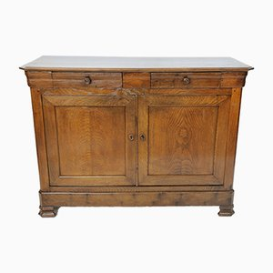 Antique French Oak Sideboard, 1700s