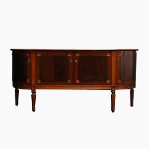 Mid-Century Art Déco Wooden Cabinet, 1960s