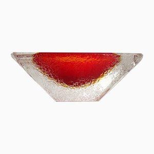 Italian Murano Glass Tableware by Flavio Poli for Seguso Vetri d'Arte, 1960s