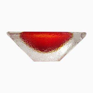 Italienische Murano Glas Tafelgeschirr von Flavio Poli für Seguso Vetri d'Arte, 1960er